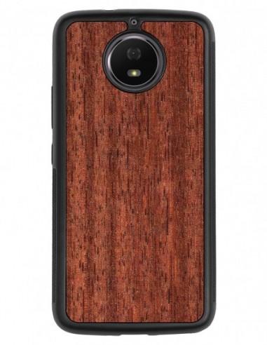 Etui premium fornir, case na smartfon APPLE iPhone 8 Plus. Fornir zebrano ze srebrną blaszką.