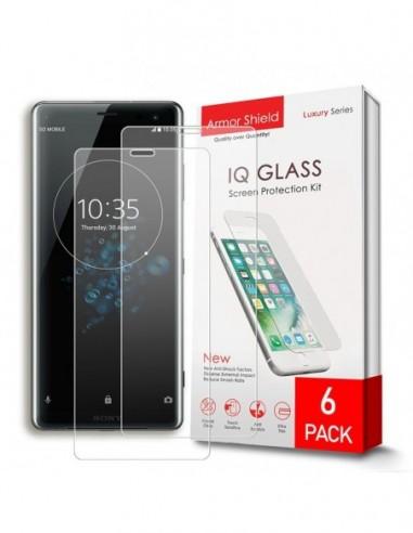 Etui premium skórzane, case na smartfon APPLE iPhone 6. Skóra floater czarna ze srebrną blaszką.