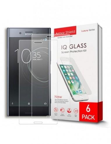 Etui premium skórzane, case na smartfon APPLE iPhone 6S. Skóra floater czarna ze srebrną blaszką.
