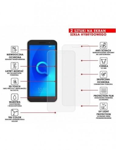 Etui premium skórzane, case na smartfon APPLE iPhone 8 Plus. Skóra floater czarna ze srebrną blaszką.