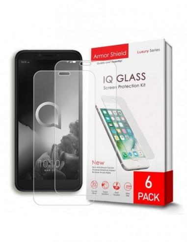 Etui premium skórzane, case na smartfon APPLE iPhone 11 PRO. Skóra floater czarna ze srebrną blaszką.