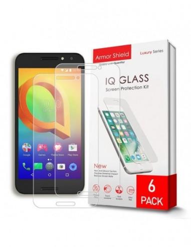 Etui premium skórzane, case na smartfon HUAWEI P8 LITE. Skóra floater czarna ze srebrną blaszką.