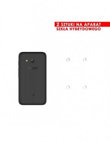 Etui premium skórzane, case na smartfon HUAWEI P10 LITE. Skóra floater czarna ze srebrną blaszką.