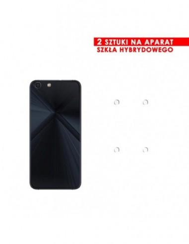 Etui premium skórzane, case na smartfon HUAWEI P20. Skóra floater czarna ze srebrną blaszką.