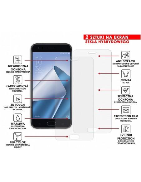 Etui premium skórzane, case na smartfon SAMSUNG GALAXY A6 PLUS. Skóra floater czarna ze srebrną blaszką.