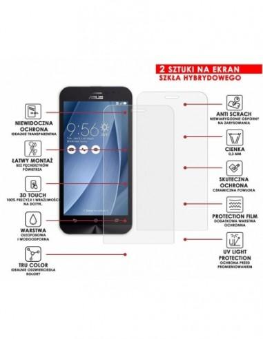 Etui premium skórzane, case na smartfon SAMSUNG GALAXY A20E. Skóra floater czarna ze srebrną blaszką.