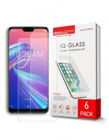 Etui premium skórzane, case na smartfon SAMSUNG GALAXY A50. Skóra floater czarna ze srebrną blaszką.