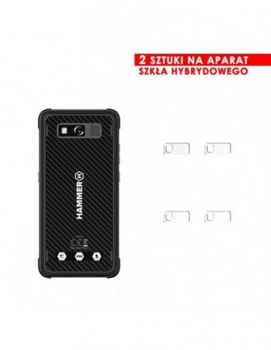 Etui premium skórzane, case na smartfon SAMSUNG GALAXY S8. Skóra floater czarna ze srebrną blaszką.