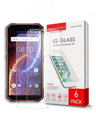 Etui premium skórzane, case na smartfon SAMSUNG GALAXY S8 PLUS. Skóra floater czarna ze srebrną blaszką.