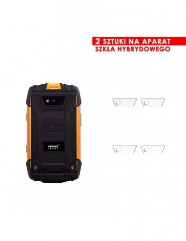 Etui premium skórzane, case na smartfon SAMSUNG GALAXY S9 PLUS. Skóra floater czarna ze srebrną blaszką.