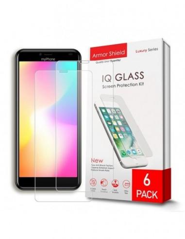 Etui premium skórzane, case na smartfon APPLE iPhone 6S. Skóra floater czerwona ze srebrną blaszką.