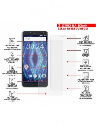 Etui premium skórzane, case na smartfon APPLE iPhone 6 PLUS. Skóra floater czerwona ze srebrną blaszką.