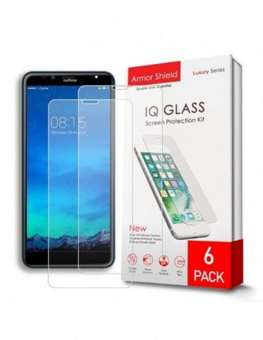 Etui premium skórzane, case na smartfon APPLE iPhone 6S PLUS. Skóra floater czerwona ze srebrną blaszką.