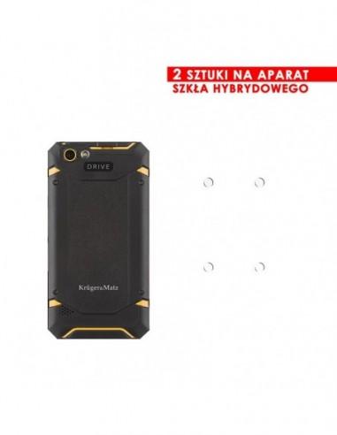 Etui premium skórzane, case na smartfon APPLE iPhone 6 PLUS. Skóra floater czarna ze srebrną blaszką.