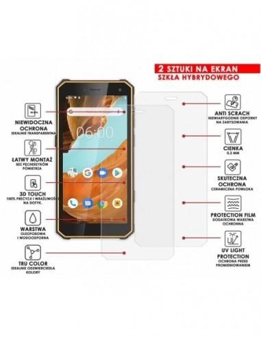 Etui premium skórzane, case na smartfon APPLE iPhone 6S PLUS. Skóra floater czarna ze srebrną blaszką.