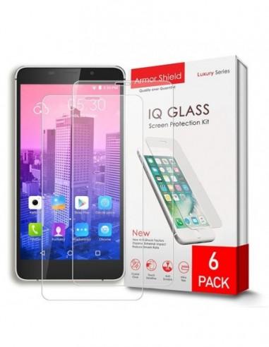 Etui premium skórzane, case na smartfon APPLE iPhone 7 PLUS. Skóra floater czerwona ze srebrną blaszką.