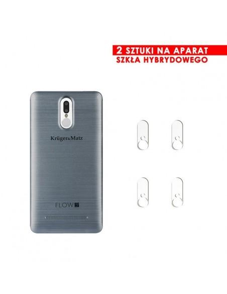 Etui premium skórzane, case na smartfon APPLE iPhone 8 PLUS. Skóra floater czerwona ze srebrną blaszką.