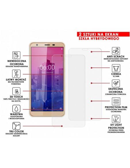 Etui premium skórzane, case na smartfon APPLE iPhone 11 PRO. Skóra floater czerwona ze srebrną blaszką.