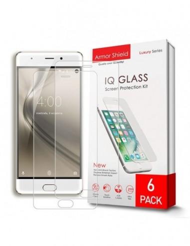 Etui premium skórzane, case na smartfon APPLE iPhone XR. Skóra floater czerwona ze srebrną blaszką.