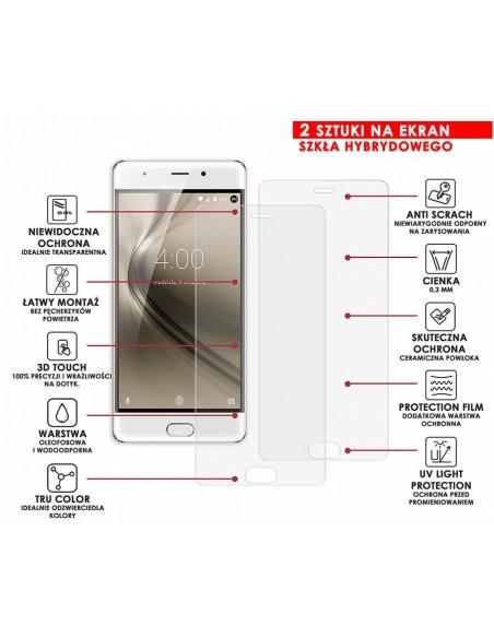 Etui premium skórzane, case na smartfon APPLE iPhone XS MAX. Skóra floater czerwona ze srebrną blaszką.