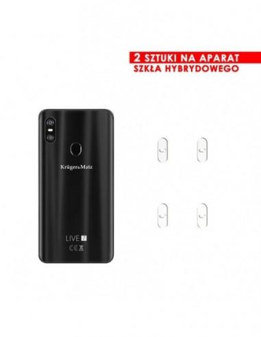 Etui premium skórzane, case na smartfon HUAWEI MATE 10 LITE. Skóra floater czerwona ze srebrną blaszką.