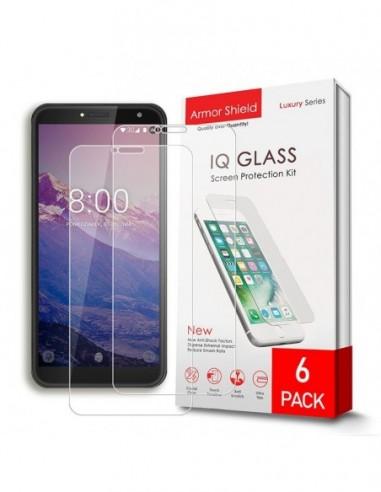 Etui premium skórzane, case na smartfon HUAWEI MATE 20 LITE. Skóra floater czerwona ze srebrną blaszką.