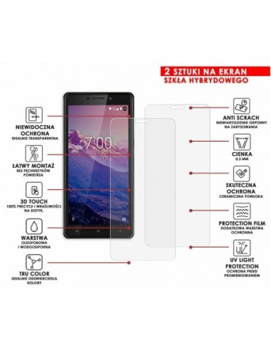 Etui premium skórzane, case na smartfon HUAWEI P8 LITE. Skóra floater czerwona ze srebrną blaszką.