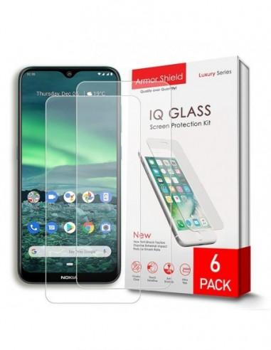 Etui premium skórzane, case na smartfon HUAWEI P10 LITE. Skóra floater czerwona ze srebrną blaszką.