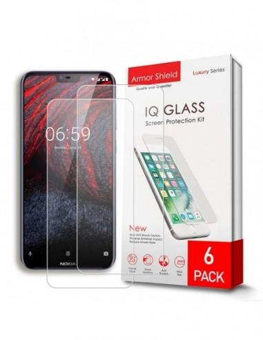 Etui premium skórzane, case na smartfon HUAWEI P20 PRO. Skóra floater czerwona ze srebrną blaszką.