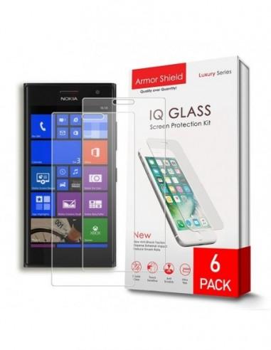 Etui premium skórzane, case na smartfon APPLE iPhone 6. Skóra krokodyl czarna ze srebrną blaszką.