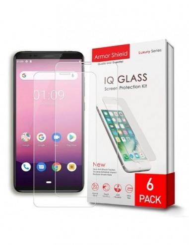Etui premium skórzane, case na smartfon APPLE iPhone 6S PLUS. Skóra krokodyl czarna ze srebrną blaszką.