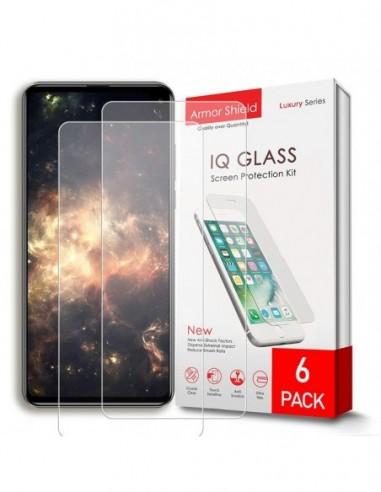 Etui premium skórzane, case na smartfon APPLE iPhone 8. Skóra krokodyl czarna ze srebrną blaszką.
