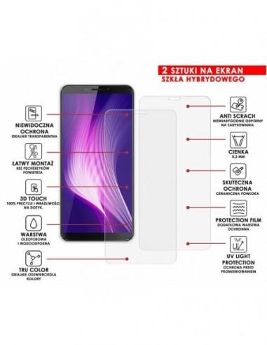 Etui premium skórzane, case na smartfon APPLE iPhone 7 PLUS. Skóra krokodyl czarna ze srebrną blaszką.