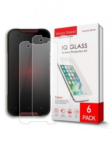 Etui premium skórzane, case na smartfon APPLE iPhone 11 PRO. Skóra krokodyl czarna ze srebrną blaszką.