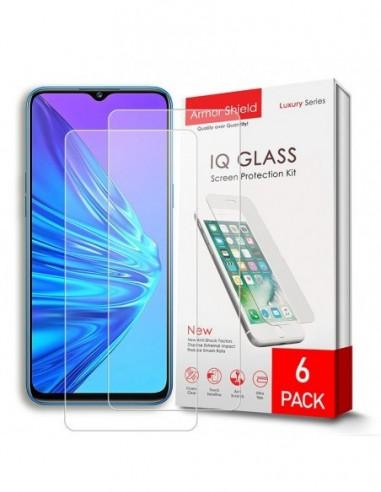 Etui premium skórzane, case na smartfon SAMSUNG GALAXY A6 PLUS. Skóra floater czerwona ze srebrną blaszką.
