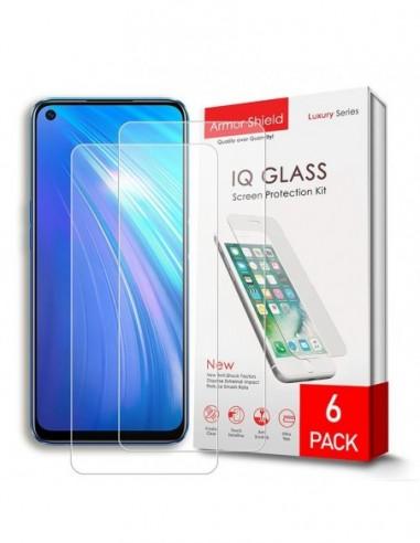 Etui premium skórzane, case na smartfon SAMSUNG GALAXY A7 2018. Skóra floater czerwona ze srebrną blaszką.