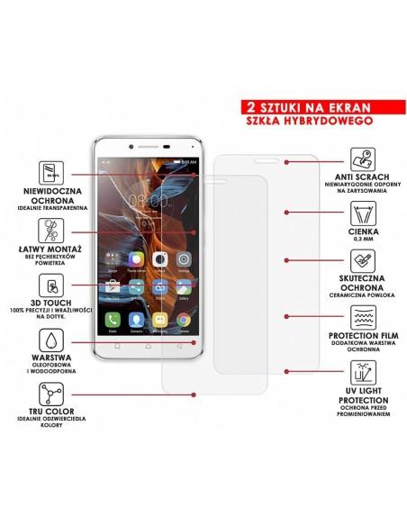 Etui premium skórzane, case na smartfon SAMSUNG GALAXY S8. Skóra floater czerwona ze srebrną blaszką.