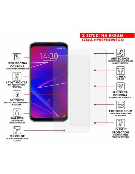 Etui premium skórzane, case na smartfon SAMSUNG GALAXY S10 PLUS. Skóra floater czerwona ze srebrną blaszką.
