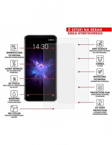 Etui premium skórzane, case na smartfon APPLE iPhone 6S PLUS. Skóra pikowana czarna ze srebrną blaszką.