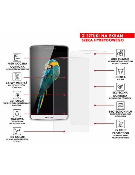 Etui premium skórzane, case na smartfon HUAWEI MATE 10 LITE. Skóra pikowana czarna ze srebrną blaszką.