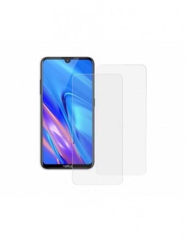 Etui premium skórzane, case na smartfon HUAWEI P8 LITE 2017. Skóra pikowana czarna ze srebrną blaszką.