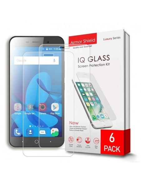 Etui premium skórzane, case na smartfon HUAWEI P20 LITE. Skóra krokodyl czarna ze srebrną blaszką.
