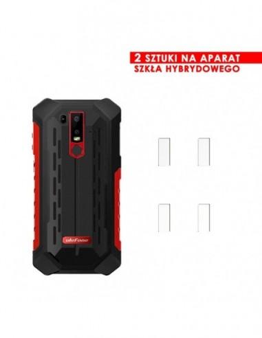 Etui premium skórzane, case na smartfon HUAWEI Y9 PRIME 2019. Skóra pikowana czarna ze srebrną blaszką.