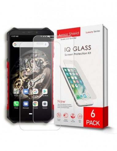 Etui premium skórzane, case na smartfon SAMSUNG GALAXY A5 2018. Skóra krokodyl czarna ze srebrną blaszką.