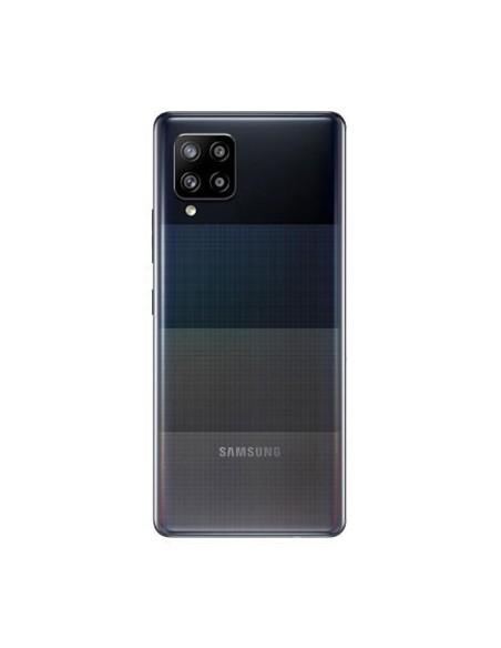 Etui premium skórzane, case na smartfon SAMSUNG GALAXY A20E. Skóra krokodyl czarna ze srebrną blaszką.