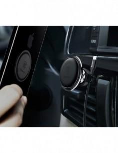 Etui premium skórzane, case na smartfon APPLE iPhone X. Skóra pyton czarna ze srebrną blaszką.
