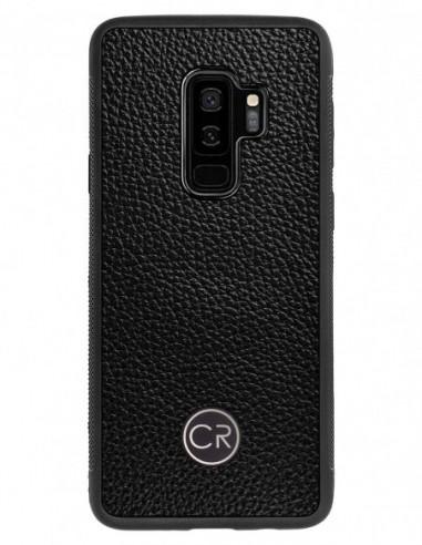 Etui premium skórzane, case na smartfon APPLE iPhone SE (2016). Skóra floater ruda ze srebrną blaszką.