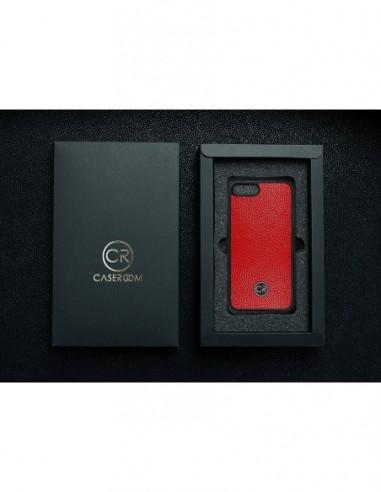 Etui premium fornir, case na smartfon APPLE iPhone 8. Fornir bambus ze srebrną blaszką.
