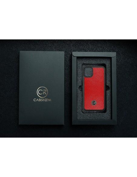 Etui premium fornir, case na smartfon Apple iPhone 8 Plus. Fornir bambus ze srebrną blaszką.