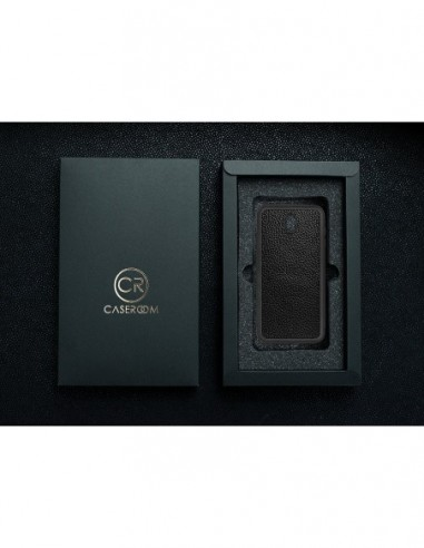 Etui premium fornir, case na smartfon APPLE iPhone 11 Pro. Fornir cordoba ze srebrną blaszką.